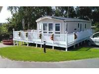 Holiday Caravan with double glazing and central heating for sale at Nodes Point , Isle of Wight