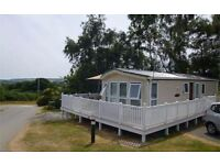 Holiday caravan for sale at Nodes Point on the Isle of Wight