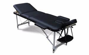 Table de massage aluminium 24 pouces 3 sections NEUF