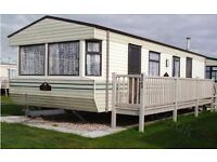 caravan to let on golden palm site. chapel st leonards lincolnshire. families only pets welcome.