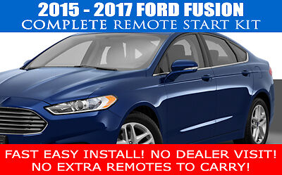 Fits: 2015 2016 2017 FORD FUSION REMOTE START CAR STARTER PLUG AND PLAY