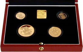 1998 4 coin proof sovereign set