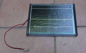 12V 4.5W waterproof solar panel in protective case with molex Boondall Brisbane North East Preview