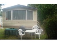 STATIC CARAVAN 3 BEDROOMS FOR HIRE AT HAVEN'S 5* HOLIDAY RESORT - ROCKLEY PARK