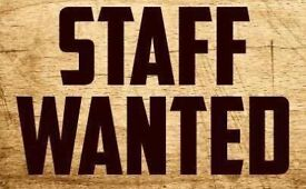Fish and chips staff wanted