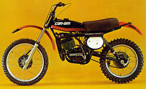 Vintage Can-Am Dirt Bikes Wanted!