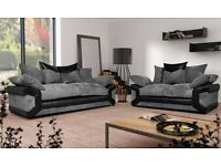 Sheldon sofa brand new with footstool