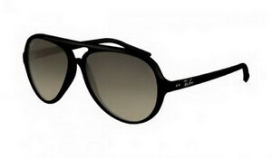 Shop Ray-Ban RB4125 59 CATS Sunglasses with Grey lenses