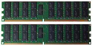 4GB (2x2GB) Memory RAM for IBM eServer xSeries 236 (8841-xxx)  Single RANK
