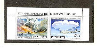 Penrhyn Island Scott 444 NH