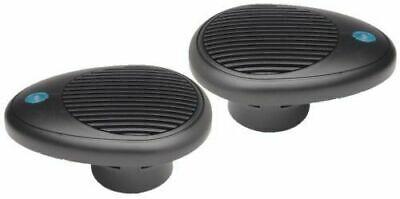 Waterproof Boat Speakers wi LED Light PQN Audio SPA254G 2.5