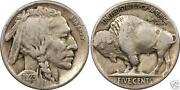Buffalo Nickels VF