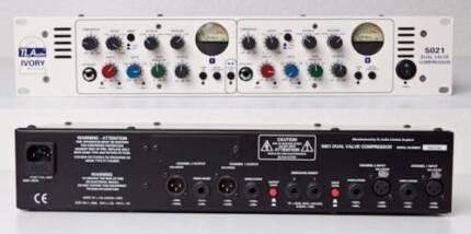 TLA 5021 STEREO VALVE COMPRESSOR / PREAMP