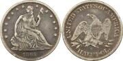 1865 Silver Dollar