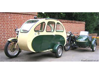 Wanted motorcycle sidecar