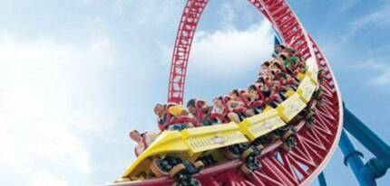 2 x UNLIMITED THEME PARK PASS Ashmore Gold Coast City Preview