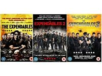 THE EXPENDABLES TRILOGY DVD