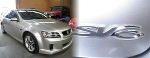 2006 Holden Commodore VE SV6 Silver 5 Speed Sports Automatic Sedan Heidelberg Heights Banyule Area Preview