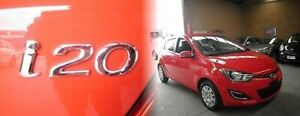 2014 Hyundai i20 PB MY14 Active Red 6 Speed Manual Hatchback Heidelberg West Banyule Area Preview