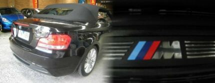 2008 BMW 120i E88 Black 6 Speed Automatic Convertible Heidelberg West Banyule Area Preview