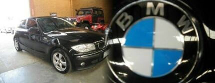 2006 BMW 116i E87 Black 6 Speed Manual Hatchback Heidelberg Heights Banyule Area Preview