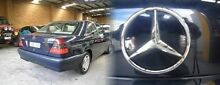 1998 Mercedes-Benz C180 W202 Classic Blue 5 Speed Automatic Sedan Heidelberg Heights Banyule Area Preview