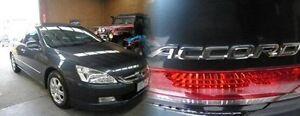 2004 Honda Accord 40 V6 Luxury Grey 5 Speed Automatic Sedan Heidelberg Heights Banyule Area Preview