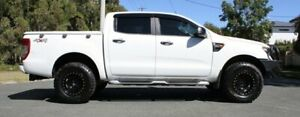 2015 Ford Ranger PX XL White 6 Speed Sports Automatic Cab Chassis Southport Gold Coast City Preview
