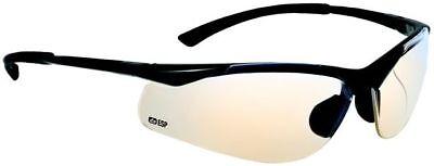 Bolle Contour Safety Glasses Gunmetal Frame Esp Anti-scratch Lens