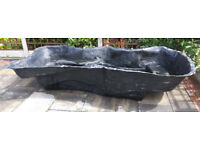Used preformed Pond liner, great condition 8 x 4 foot.