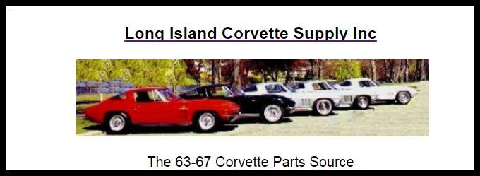 Long Island Corvette Supply Inc