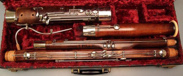 Fagott Meissner Generalüberholt ( German Bassoon )