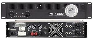 Peavey PV 1500 2 x 750W Power Amp call/text 519 476 8769