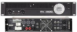 Peavey PV 1500 2 x 750W Power Amp call/text 519 476 8769 London Ontario image 1