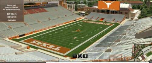 Texas Longhorns vs Oklahoma State Football Tickets 9/21/19! Up to 12 GREAT SEATS