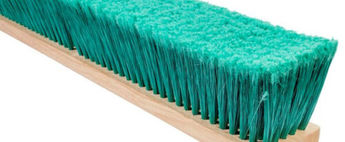 "Magnolia Brush #3924-SL 24"" PET Line Floor and Garage Push Broom Head"
