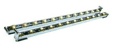 Mallard Flo-guide Ii Gravity Flow Roller Conveyor Rack W Stops 36 5 Sets10pc