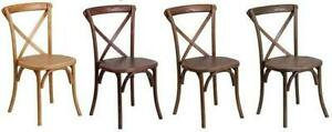 RESTAURANT USE CROSS BACK DINING CHAIR