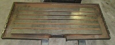 70 X 33 X 11 T-slot Steel Welding 5 T-slotted Table Cast Iron Layout Plate