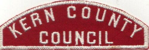 BOY SCOUT RWS KERN COUNTY / COUNCIL RED & WHITE FULL STRIP