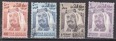 Bahrain Scott 236-9 Used (Catalog Value $30.25)