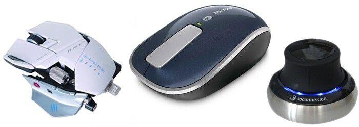 Die Qual der Wahl: Welche Maus soll es sein?