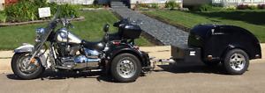 Bike with Trike Adapter and Trailer