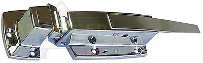 High Quality Standard Walk-in Box Cooler Freezer Chrome Door Latch Handle Flush
