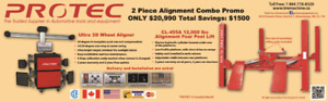 Wheel Alignment machine and hoist Combo starts from $20990