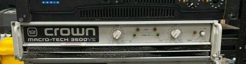 Crown Macro-tech 3600 VZ Amplifier