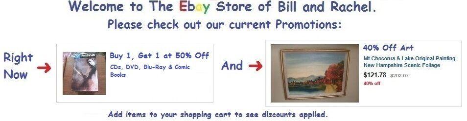Buy 1 Get 1 50% Off CDs, DVD......
