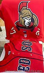 3 FAN WEAR SWEATERS Football, Hockey, Baseball