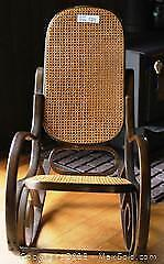 """Brentwood Rocking ChairPick up in Time-slot """"C"""" ONLY"""