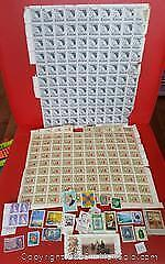 Postage Stamp Mixed Lot